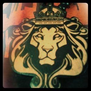 Other - Rasta lion pendant necklace brand new